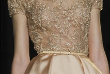 Fashion Elegance / Gamine style with a layer of glitter, gold or glitz ...