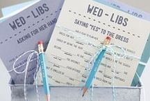 Paper Work. / From guest books to thank you notes to save the date cards - we have you covered.