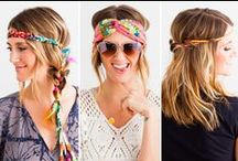 Hairdo Ideas / No question hair makes a statement. From class to stage we're taking a look at cool ways to inspire your hairdo and accessorize your crown!