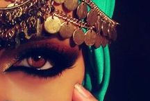 Eye to Eye / Bellydancers need spectacular eye makeup because we dance with our eyes as much as our hips.