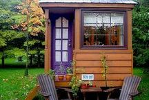 tiny houses / so cute but not wheel chair friendly