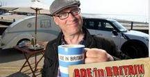 Ade in Britain / Our Teardrop Caravan called 'Tivvi' starred next to Ade in both series of 'Ade In Britain'. Wonderful memories.....x