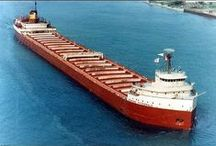 the wreck of the edmund fitzgerald / Superior its said  never gives up her dead when the gales of November  come stealing