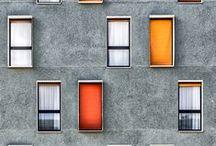 Perpendicular facades