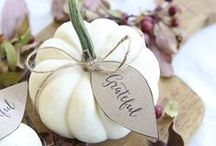 Thanksgiving. Inspire. / Thanksgiving ideas.