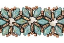 B - tiny buttons, O-beads