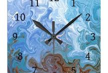 Wall Clocks / Wall clocks with images of my original art.