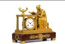 Pendule Empire Et Pierre-Philippe THOMIRE / Pendule XVII - XIX sec. Bronziers Ormolu