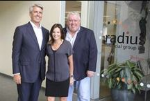 David Stevens with radiusgrp / radius financial group inc. hosted a very special guest on Thursday, July 30, 2015 when Mortgage Bankers Association (MBA) President and CEO, David Stevens paid a visit to present and discuss the current trends within the mortgage banking industry.