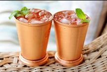 Mint Julep Cups / Copper Mint Julep Cups for the Kentucky Derby or anytime you want to add some fancy to your cocktail