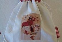 deco artisanat / DIY en tissu a coudre ou a coller