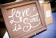 Wedding Signage / Our favorite wedding signage. / by Lenora's Legacy