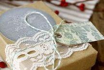 jolis paquets cadeaux/packaging