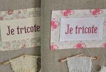 objets tricot crochet
