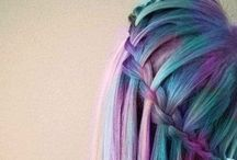Died Hair / i dont wanna push without a shove ~ Hey Violet