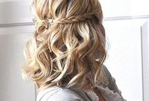 Hairstyles For Short Hair / If you've got short hair, this board is for you! We gather all the most stylish  DIY hairstyles for short hair. Easy & cute hair updo that will take you to the next level! A quick updo tutorial for braided, curly, vintage, formal & elegant hairstyles perfect for wedding, for prom, for women over 50 and for school. Plus a bunch of step by step tutorial for a natural, simple, boho, messy, pixie, popular celebrity hairstyles with bangs & all other trendy hair look.