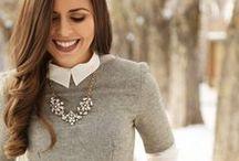 Winter Fashion Style & Makeup