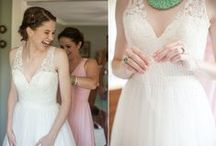 Lovely Wedding Gowns / Some of our favorite wedding gowns from brides we've hosted at Lenora's Legacy.
