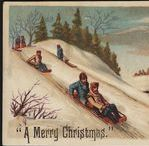New England Christmas History / Images and articles about the history of Christmas in New England