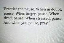 Self - Prayer life