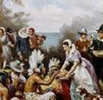 History of Thanksgiving / The first Thanksgiving was a harvest celebration held by the pilgrims of Plymouth colony in the 17th century.