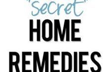Home Remedies / by Debbie Viavattene