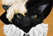 Cat - Illustration, painting, drawing.... / by Laura Levada