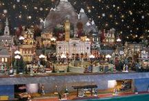Christmas/Halloween Village (Lemax and Dept 56) / by Charlene Pinkston