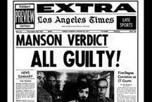 Famous Criminal Trials / Criminal trials that have made headlines.