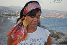 Silk Foulard / Silk Foulard Made In Italy