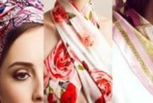 like wearing a silk scarf / A thousand ways to wear your scarf and create your own outfits. Setamoda.com