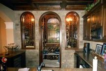 Tile Murals for Wine Cellars / Custom hand painted tile for wine cellars add a signature touch!