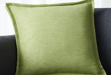 Pillow Talk / Fun Pillows- a great way to change the feel of a room!