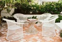 Mid-Century Modern Patios and Other Home Spaces. / Our favorite mid-century modern patios, bathrooms and other home spaces decoration ideas found on Pinterest and the web. / by Nest Vintage Home