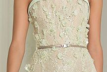 Trends sept 2014 / Soft pastels, georgette,lace and tulle.