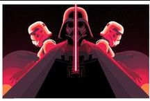 Star Wars / http://darkinkart.com/star-wars-artwork.html