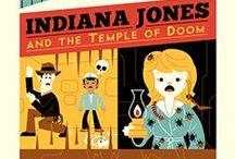 Indiana Jones / http://darkinkart.com/indiana-jones-artwork.html