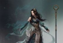 Medieval 'N' Magical characters