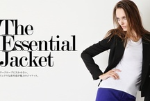 2012AW The Essential Jacket / LE CIEL BLEU web store