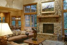 Lodge-Style Decorating / Decorating with the feel of a national park lodge or cozy cabin