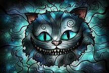 "Alice Underground / ""Tripping out, spinning around.  I'm underground, yea, I fell down..."" - Avril Lavigne / by C.J."