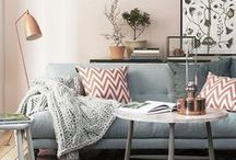 Home Decor Ideas / Home decor and design ideas for small spaces. Apartment and home decor on a budget. DIY ideas.  Cozy, modern and classic decor.