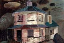 Places / Buildings and landscape in the paintings of Clive Hicks-Jenkins