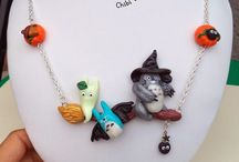 Chibi Bijoux 2014 - polymer clay / Créations de bijoux en pâte polymère faits main.  Styles : kawaii (mignon) , fantastique, Japon , mangas , jeux vidéo et animaux