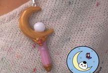 chibi bijoux: Kawaii , japon, cosplay - polymer clay / Créations de bijoux en pâte polymère faits main.  Styles : kawaii (mignon) , fantastique, Japon , mangas , jeux vidéo et animaux