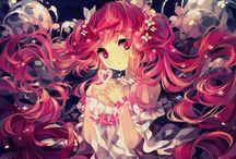Mangas flowers girls