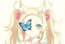Manga Girls kawaii ❤