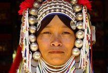 folk costume (women) / by Don Terlinden