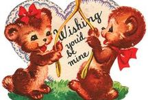 Valentine Cards / Vintage valentine cards / by Sharon Williams