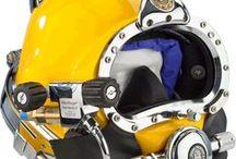 Helmets & Masks / Kirby Morgan Helmets, BandMasks, & Full Face Masks #CommercialDiving #helmets